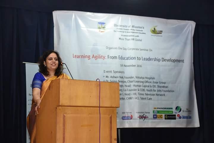 """अल्केश दिनेश मोदी इंस्टिट्यूट ने """"लर्निंग एजीलिटी"""" कार्यक्रम के ज़रिए युवाओं को दी एक नई दिशा"""