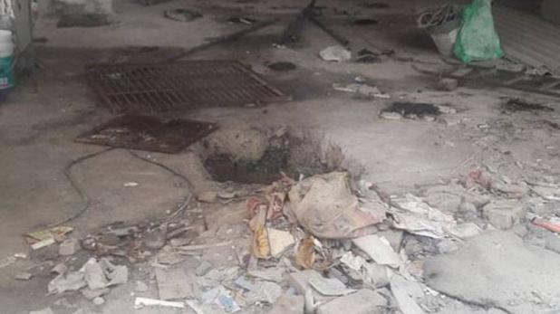 सेप्टिक टैंक में जहरीली गैस की चपेट में आने से 4 मजदूरों की मौत