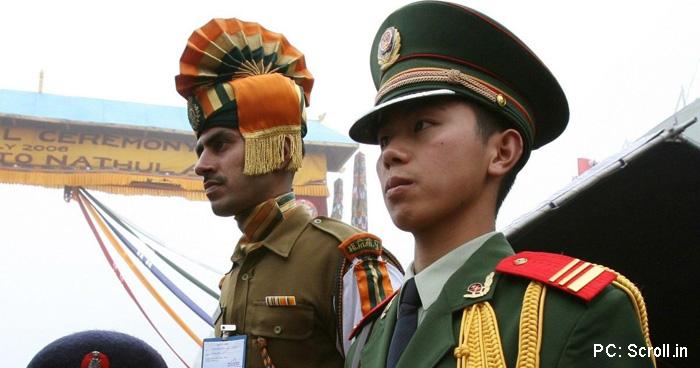 चीन ने भारत पर जीत की घोषणा की