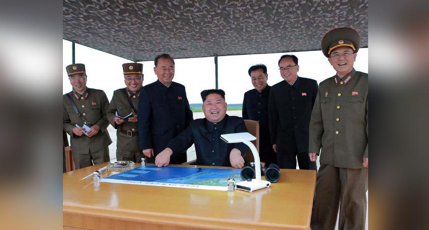 जापान पर मिसाइल छोड़ नॉर्थ कोरिया का मोगैम्बो हुआ खुश