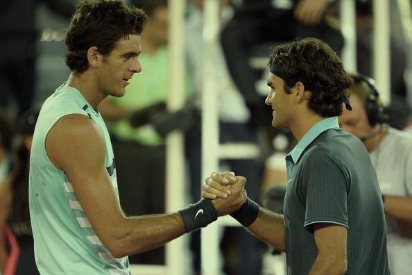 US Open: पुरूष एकल क्वार्टर फाइनल में जुआन मार्टिन देल पोत्रो और रोजर फेडरर की भिड़ंत